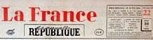 La France - La nouvelle république