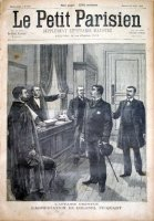 L'affaire Dreyfus. L'arrestation du colonel Picqart.