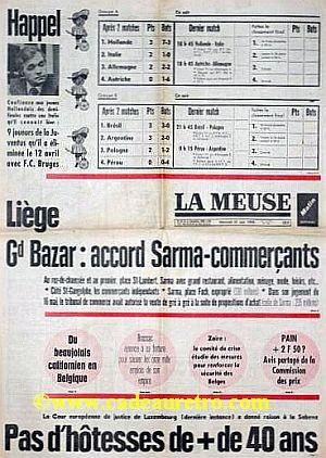 la meuse journal belge quotidien