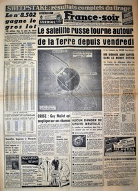 France-soir du 6 octobre 1957